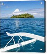 View Of Tahiti Acrylic Print