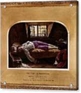 Wallis Henry The Death Of Chatterton2 Henry Wallis Acrylic Print