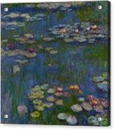 Water Lilies 1916 Acrylic Print