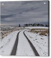 Winter Wonderland In Central Scotland Acrylic Print