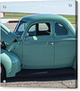 40 Ford Deluxe Acrylic Print