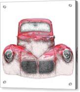 40 Willys Acrylic Print