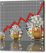 401k Nest Egg Acrylic Print