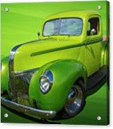 40s Ford Pickup Acrylic Print