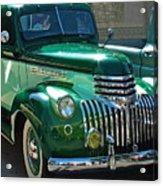 41 Chevy Truck Acrylic Print