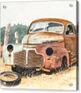 '41 Fleetline Acrylic Print