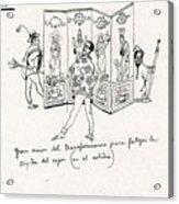 41601 Carlos Saenz De Tejada Acrylic Print