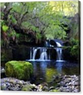 Paintings Of Landscapes Acrylic Print