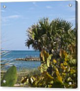 Sebastian Inlet State Park In Florida Acrylic Print