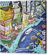 42nd And 8th Street Acrylic Print