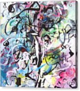 Abstract Expressionsim Art Acrylic Print