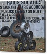 Mozambique Acrylic Print