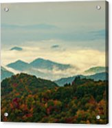 North Carolina Fall Colors Acrylic Print