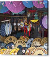 4412- Fan Shop Acrylic Print