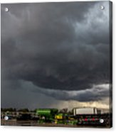 7th Storm Chase 2015 Acrylic Print