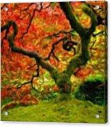 Art Of Landscape Acrylic Print