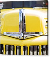46 Pick Up In Yellow Acrylic Print