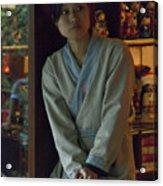 4625- Shop Girl Acrylic Print