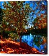 Landscape Paintings Canvas Prints Acrylic Print