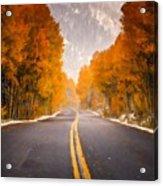 Landscaped Acrylic Print