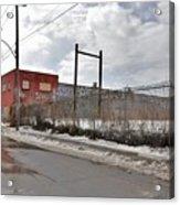 4814 Dunn Street Urban Exploration Acrylic Print