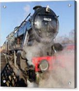 48624 Steam Locomotive Acrylic Print