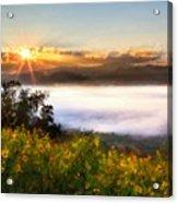 Oil Canvas Landscape Acrylic Print