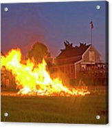 4th Of July 2010 Byc Acrylic Print by Charles Harden