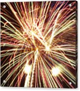 4th Of July Fireworks Acrylic Print by Joe Carini - Printscapes