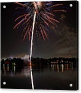 4th Of July Acrylic Print by Lone Dakota Photography
