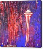 4th Space Needle Acrylic Print