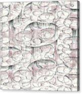 4x3.45-#rithmart Acrylic Print