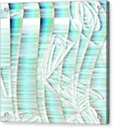 4x3.85-#rithmart Acrylic Print