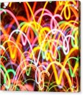 Happy Vibes Acrylic Print