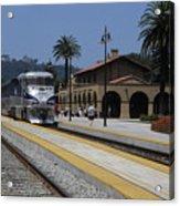 Sheldon Coopers Favorite Train Acrylic Print