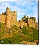 Bamburgh Castle Acrylic Print