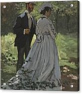 Bazille And Camille Acrylic Print