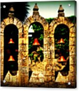 5 Bells Acrylic Print
