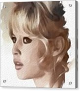 Brigitte Bardot, Actress Acrylic Print
