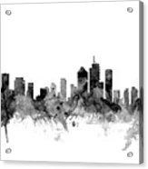 Brisbane Australia Skyline Acrylic Print