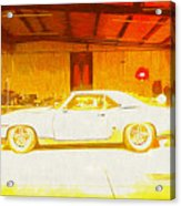 Chevrolet Camaro Acrylic Print