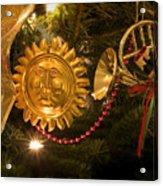 Christmas Tree Decorations Acrylic Print