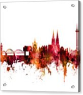 Cologne Germany Skyline Acrylic Print