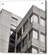 Concrete Building Acrylic Print