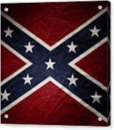 Confederate Flag 8 Acrylic Print