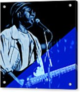 Curtis Mayfield Collection Acrylic Print