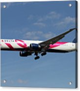 Delta Airlines Boeing 767 Acrylic Print
