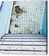 Derelict Swimming Pool Acrylic Print