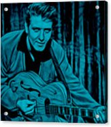 Eddie Cochran Collection Acrylic Print