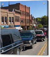 Emma Crawford Coffin Races In Manitou Springs Colorado Acrylic Print